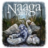 Naaga-lehden 2017 kansi, digitaalimaalaus, 2017 Logo: Joonas Puuppo