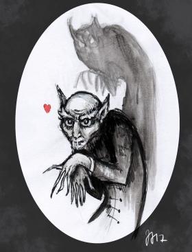 Nosferatu, sekatekniikka, 2017